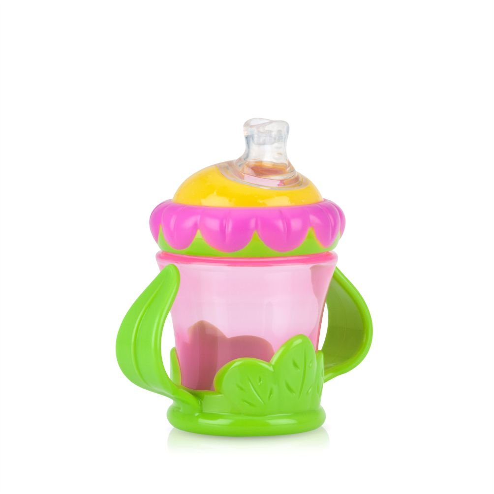 Lovely Baby Drinking Cup Sippy Beaker No Spill With Double Leak Proof Handles
