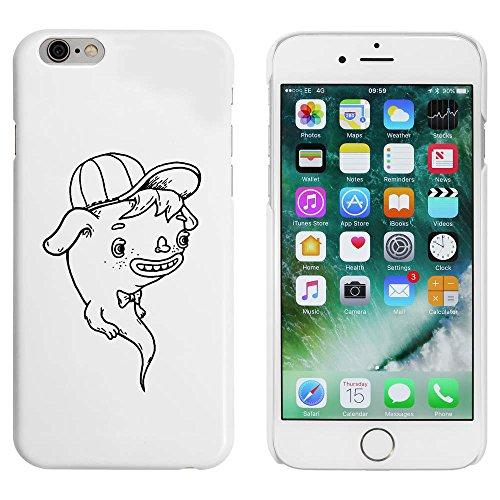 Weiß 'Geist' Hülle für iPhone 6 u. 6s (MC00012810)