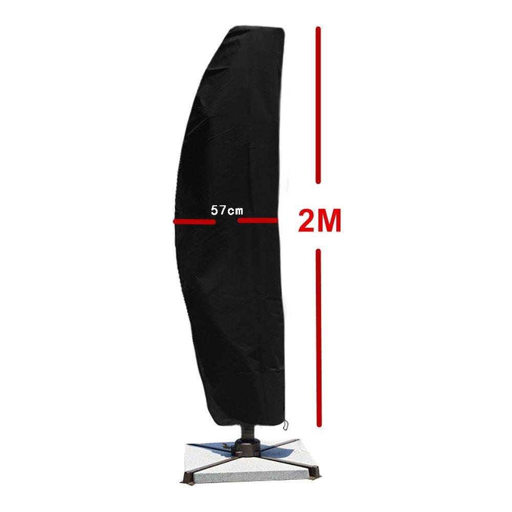 Good shop us Garden Patio 2M Portable Parasol Sun Umbrella Cover Cantilever Waterproof Cover