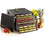 Excalibur - Deshidratador de alimentos (9 bandejas, con minutero), color negro