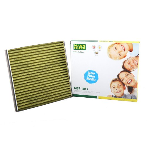 Mann Filter MCF 1017 Cabin Air Filter with Polyphenol Layer