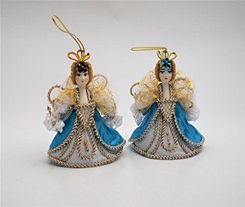 Porcelain Doll Ornament - Collectible Ass. Russian Porcelain Ornament Doll