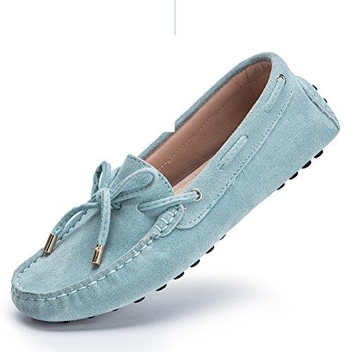 Primavera y verano guisantes zapatos/Zapatos de mujer planos/Zapatos de la unidad deportiva/zapatos casuales/Zapatos de tacón plano C