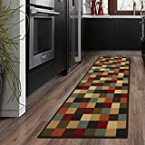 Ottomanson otto Home Collection Runner Rug, 20' X 59', Multicolor Checkered