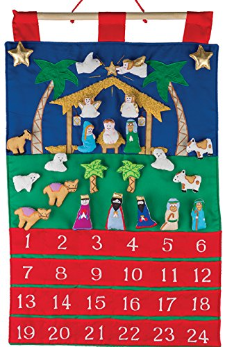 Nativity Fabric Advent Calendar (Countdown to Christmas)