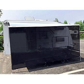 Tentproinc RV Awning Sun Shade Net 6u0027x15u0027 Black Complete Kits Drop Motorhome Trailer  sc 1 st  Amazon.com & Amazon.com: Carefree 701507 Black 15u0027 x 7u0027 Drop RV Awning EZ ...