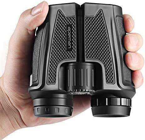 APEMAN 12×25 Compact Folding Binoculars for Adults Kids, Professional High Powered Binoculars with Weak Light Night Vision Clear Ideal for Bird Whale Watching Outdoor Sports Games and Concerts