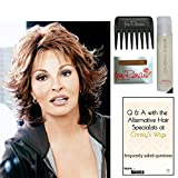 Bundle - 5 items: Breeze by Raquel Welch Wig, 15 Page Christy's Wigs Q & A Booklet, Wig Shampoo, Wig Cap & Wide Tooth Comb (Color Selected: ) Color Selected: R6/30H