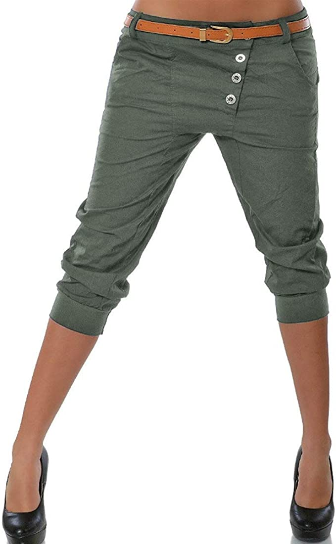 Jodimitty – Pantalones Pirata para Mujer, Pantalones Cortos para ...