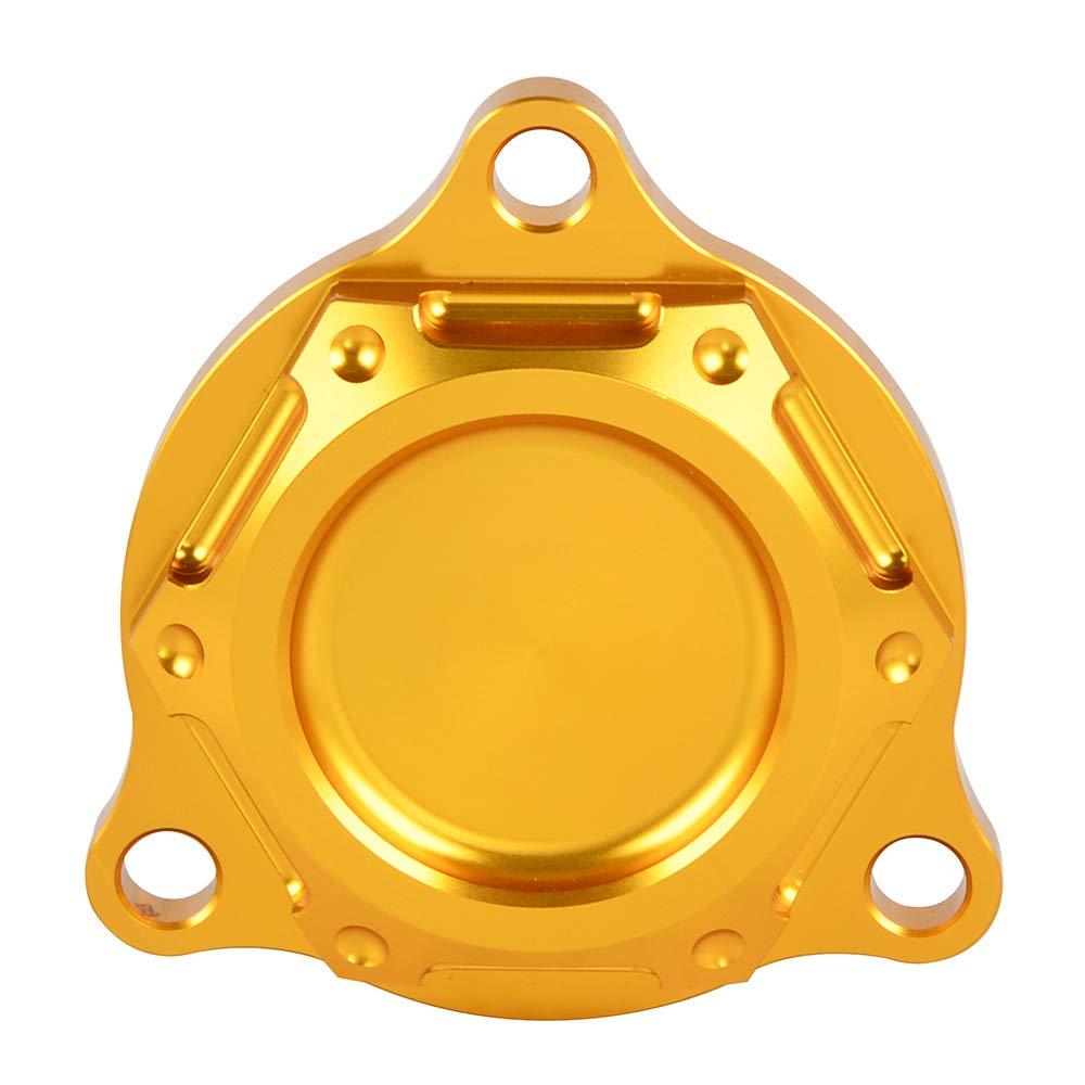 Nicecnc Black Engine Oil Filter Cover Cap Plug /& Powerful Magnet Embedded Replace Suzuki DRZ400,DRZ400E,DRZ400S,DRZ400SM 2000-2018 2012 2013 2014 2015 2016 2017