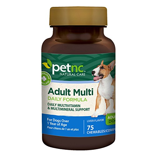 PetNC Natural Care Adult Multi Chewables for Dogs, 75 Count Review
