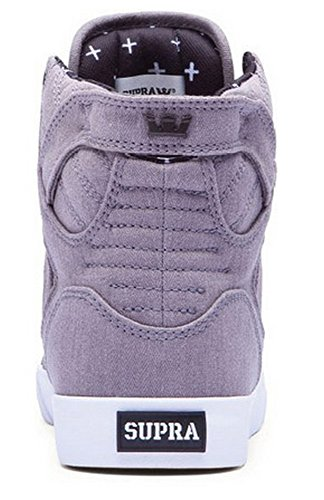 Supra SKYTOP - zapatillas deportivas altas de lona hombre gris