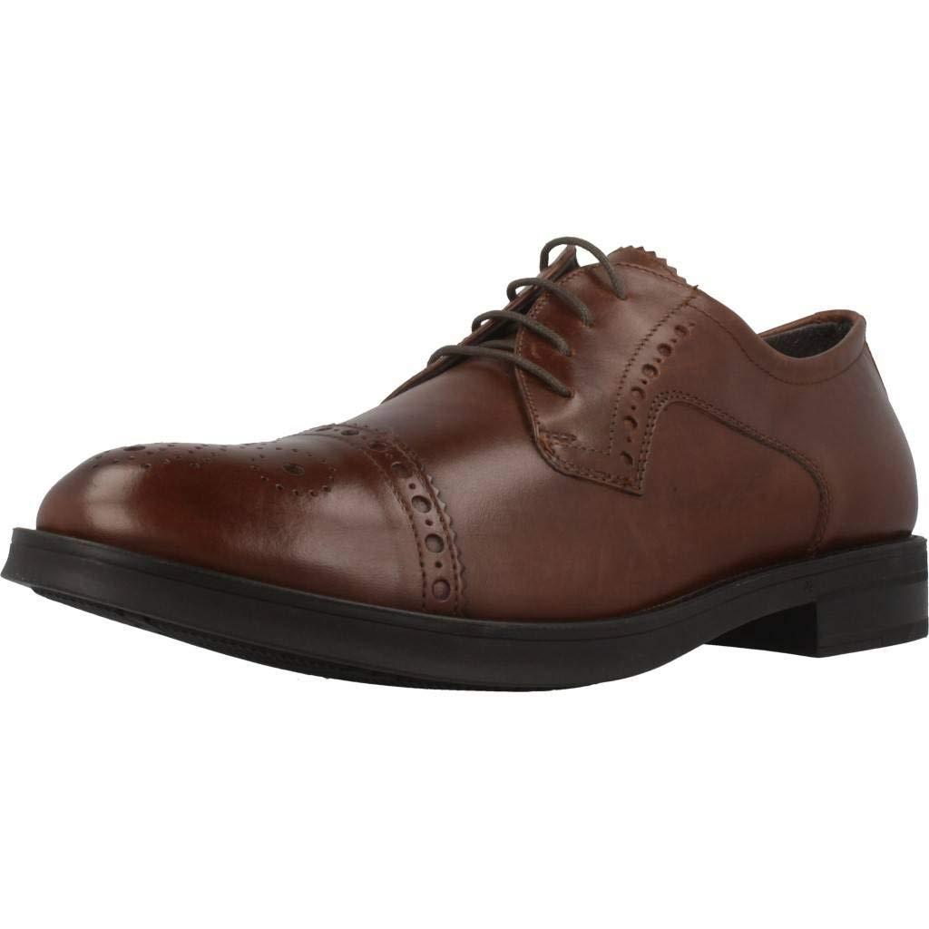 TALLA 42 EU. Zapatos de Cordones para Hombre, Color marr�n (322), Marca STONEFLY, Modelo Zapatos De Cordones para Hombre STONEFLY Class II 1 TUMB Calf Marr�n
