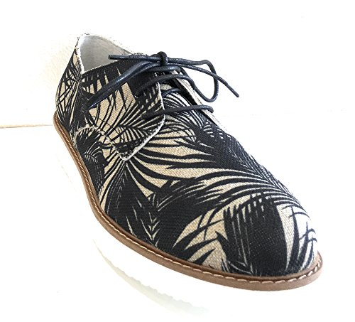 Ippon Vintage James-Tropic, Derbys Femme Noir (Noir)