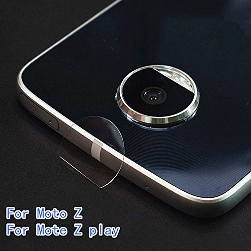 2X Transparent Clear Camera Protector Lens Tempered Glass For Motorola Moto Z / Z force droid Camera len