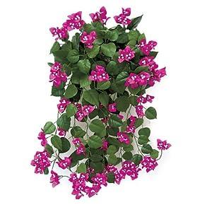 Silk Flower Arrangements Windowbox 36in. Artificial Bougainvillea-Pink-fire Retardant