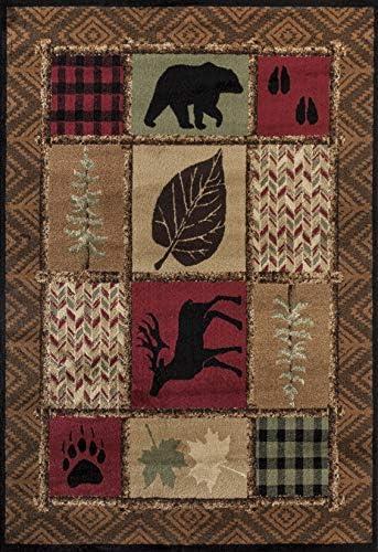 United Weavers of America Woodside Rug 5 3 x 7 2 Multi