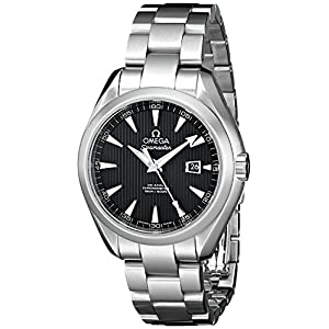 Omega Men's 231.10.34.20.01.001 Aqua Terra Ladies Automatic 34mm Analog Display Swiss Automatic Silver Watch