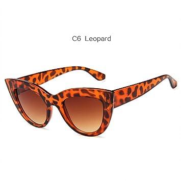 KLXQW Vintage Big Cat Eye Sunglasses Mujeres Retro Cateye ...