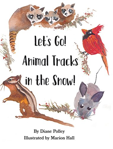 Let's Go! Animal Tracks in the Snow!