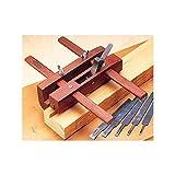 Mujingfang Rosewood Adjustable Plough Plane