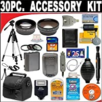 30 PC ULTIMATE SUPER SAVINGS DELUXE DB ROTH ACCESSORY KIT, INCLUDES FLASH, LENSES, FILTERS, ACCESSORIES AND Much MORE! For The Canon EOS 7D Digital SLR Camera Which Havs Any Of These (60mm, 50mm 1.8) Canon Lenses