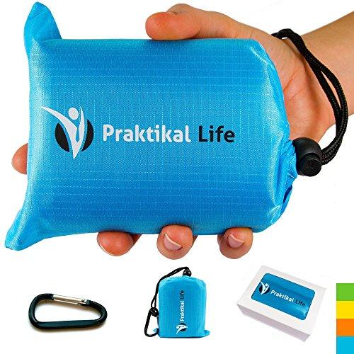 PRAKTIKAL Pocket Blanket -Compact,Picnic,Beach, Outdoor (66