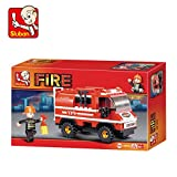Sluban Mini Fire Truck, Multi Colour