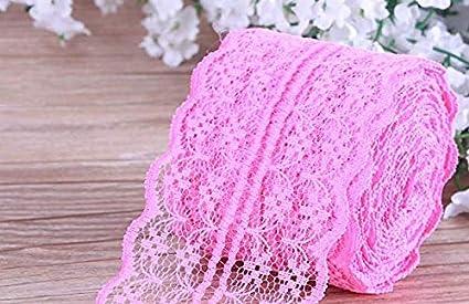10/m di larghezza 4.5/cm same Beige per fai da te e arti creative f-eshion Beautiful Lace nastro colorato per cucito e bordo