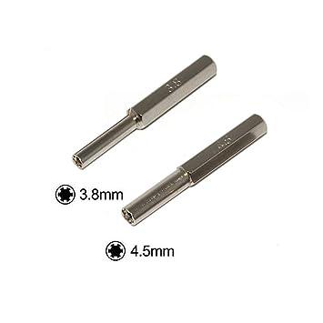 Aofocy Destornillador Hexagonal 3.8 mm 4.5 mm 2 Piezas ...