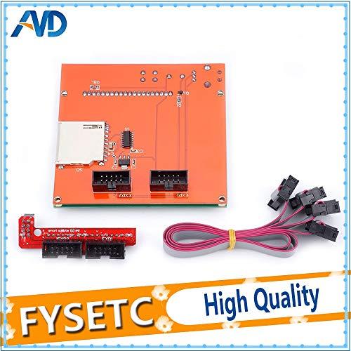 Amazon.com: Impresora 3D - 12864 Rampas LCD Smart Parts ...