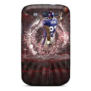 Anti-scratch And Shatterproof New York Giants Phone Cases For Galaxy S3/ High Quality Tpu Cases Black Friday