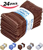 Utopia Towels 30-Inch-by-56-Inch Cotton Bath Towel - Brown