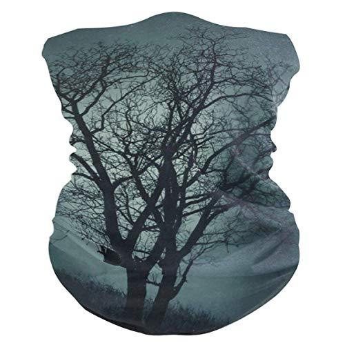 Tree Halloween Black Dark Outdoor Magic Headband Multifunctional Elastic Seamless BandanScarf UV Resistence Sport Headwear]()