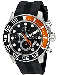 Invicta Mens 20448SYB Pro Diver Analog Display Quartz Black Watch