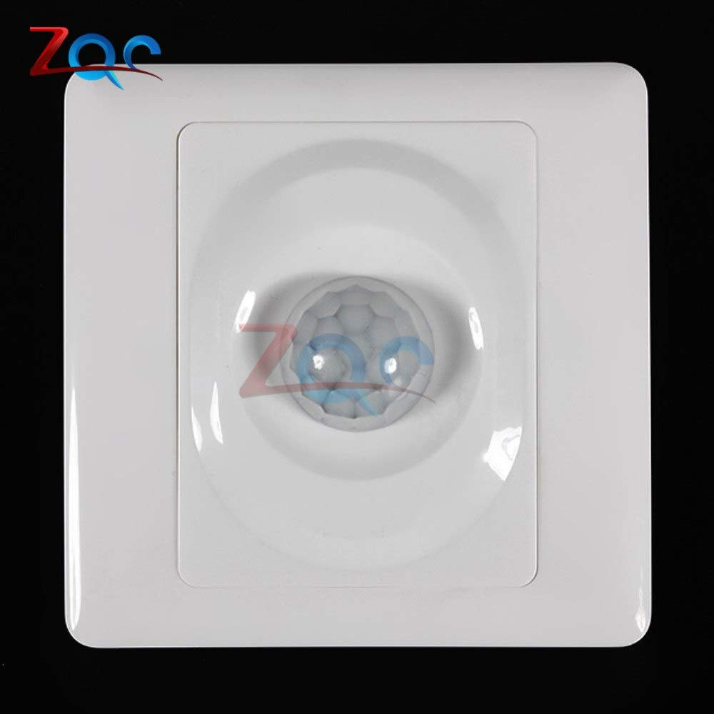Switch 110V 220V PIR Infrared Switch Module IR Body Motion Sensor Auto On Off Lights Lamps Smart Delay Light Control Switch