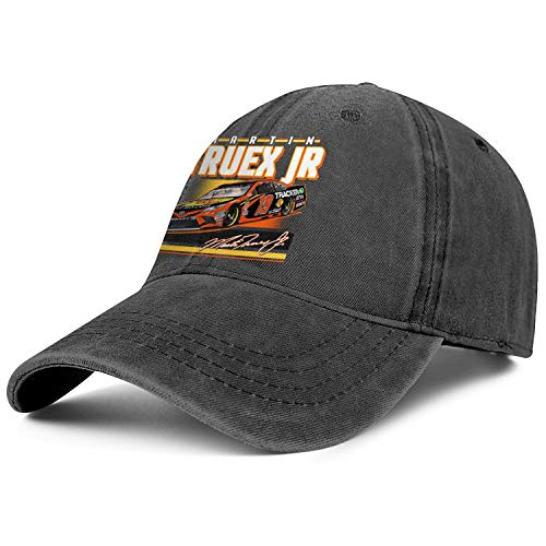 NIANLJHDe Unisex MenClassic Dad Hat Unconstructed Martin-Truex-Jr-2019-Retro-Groove-NASCAR-#19- Run Baseball Hat -