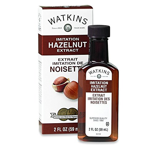 Watkins Imitation Extract, Hazelnut, 2 Ounce (Pack of 6) (Packaging May Vary)