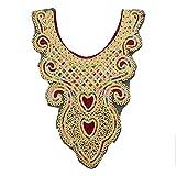 Best unknown Maxi Dresses - Lace - 1pc Craft Gold Collar Venise 3d Review