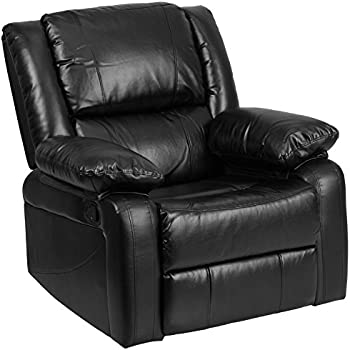 Amazon Com Bonded Leather Rocker And Swivel Recliner