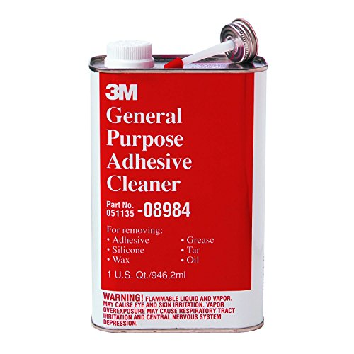 3M General Purpose Adhesive Cleaner, Quart, (General Purpose Adhesive Cleaner)