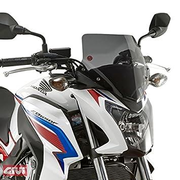 Givi Scheibe Windschutz Mit Anbausatz Schwarz Fur Honda CB 650 F