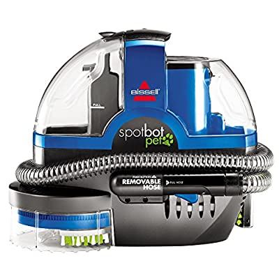 Bissell Spotbot Pet Portable Deep Cleaner, Blue