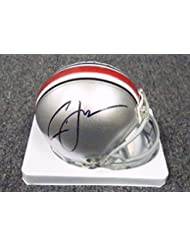 51002 Cardale Jones Signed Ohio State Football Mini Helmet AUTO COA - PSA DNA Certified - Autographe