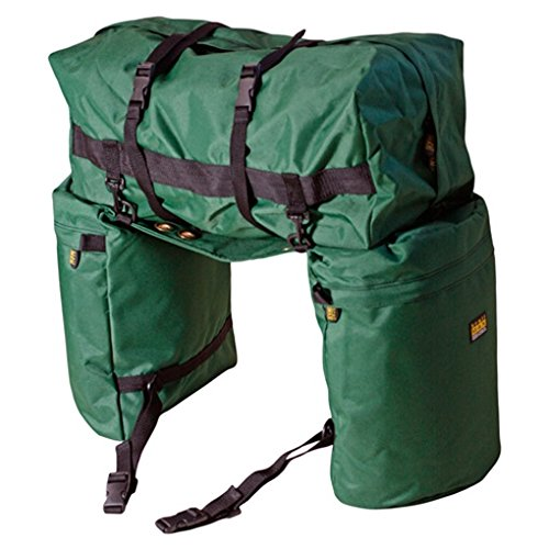 TrailMaxオリジナルサドルバッグ - Western Saddle用パック - グリーン   B073XKBPHT