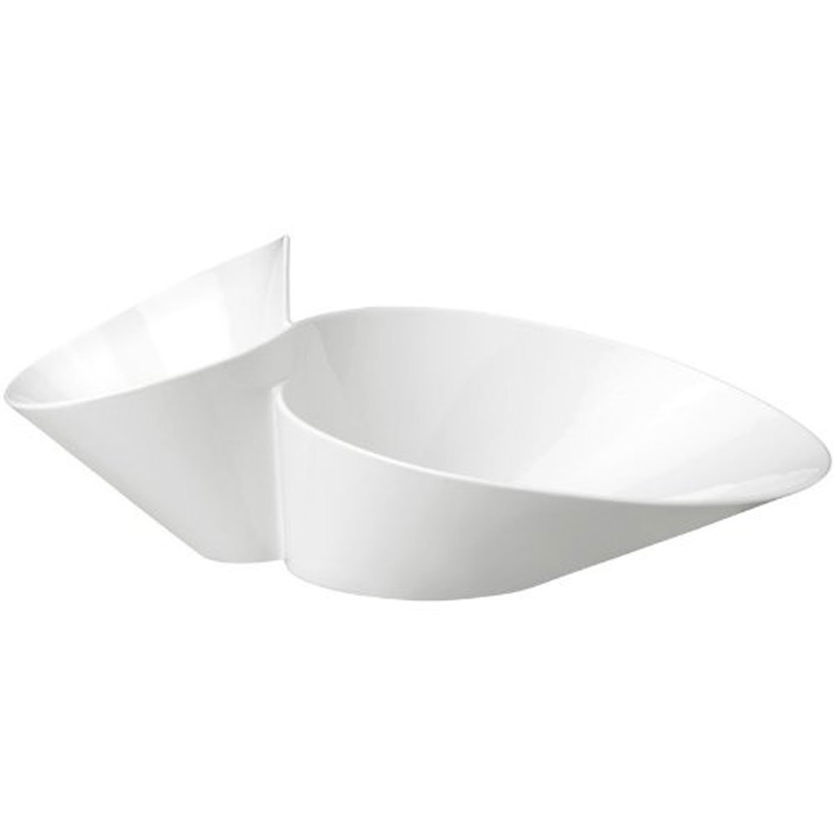 New Wave Chip and Dip Serving Bowl by Villeroy & Boch - 19.25 Inches
