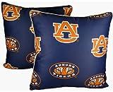 College Covers Auburn Tigers 16'' x 16'' Decorative Pillow - (Includes 2 Decorative Pillows)
