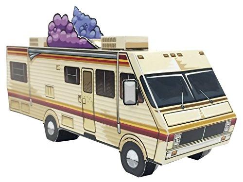 Breaking Bad, Van Pickup Meth Lab - Paper Toy - DIY Paper Craft Kit - 3D Model Paper Figure Wagon from Breaking - Bad Breaking Diy