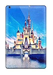 Tpu Cases Covers For Ipad Mini Strong Protect Cases - Disney Castle Design