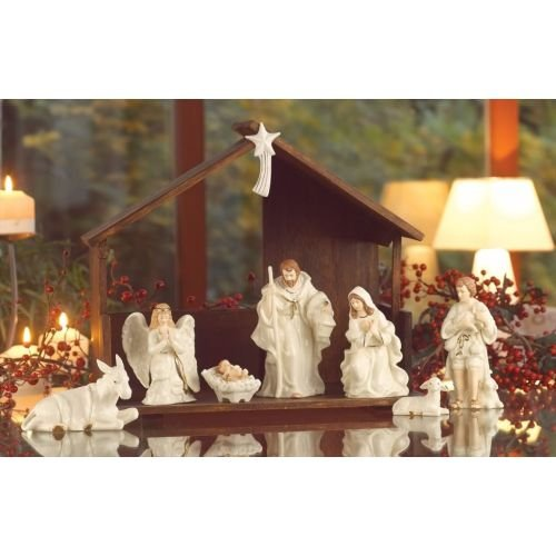 Belleek 7249 Ivory Holiday Collection
